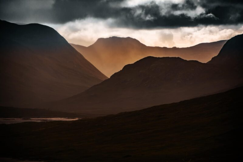 Landschaftsbild Schottland Isle of Skye