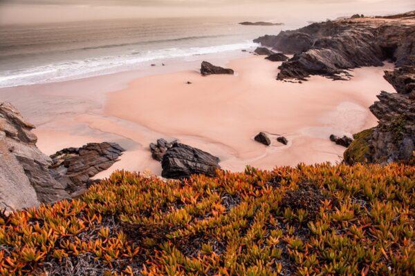 Abendstimmung an der portugiesischen Atlantikküste - Sines Portugal