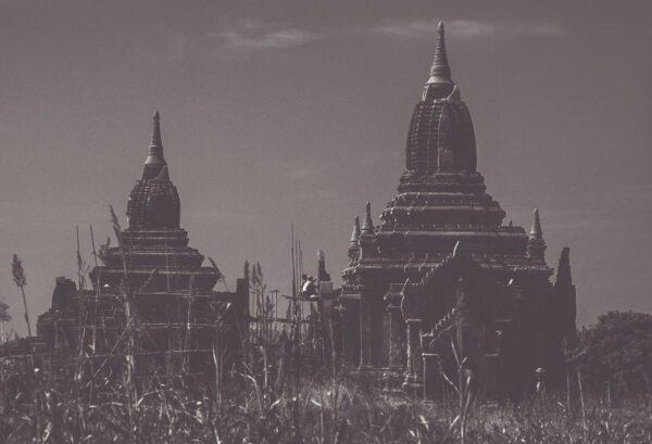 Alte Pagoden Tempel, bei Bagan - Myanmar