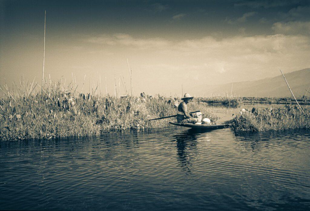 Fischer am Inle-See - Shan-Staat - Myanmar Burma