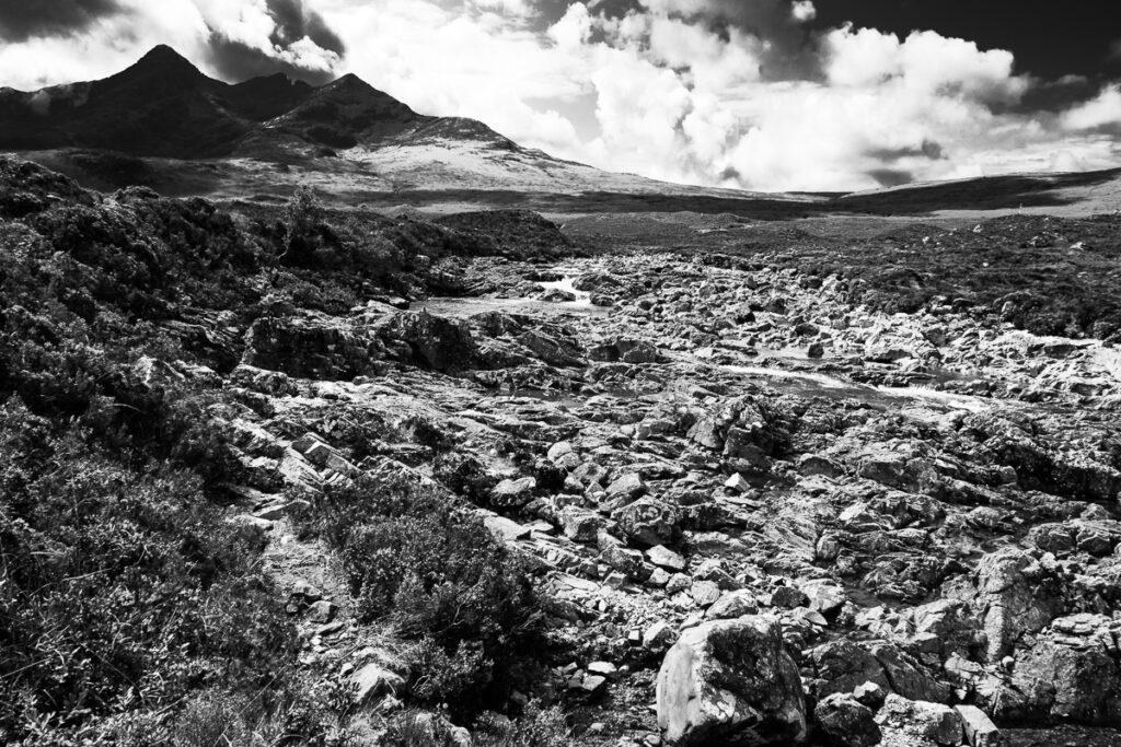 Wandbild Highlands Schottland – Isle of Skye, Scotland