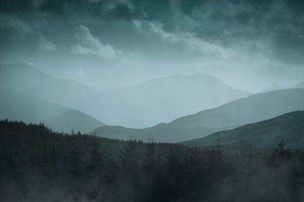 Highlands Schottland, Isle of Skye - Wandbild Schottland