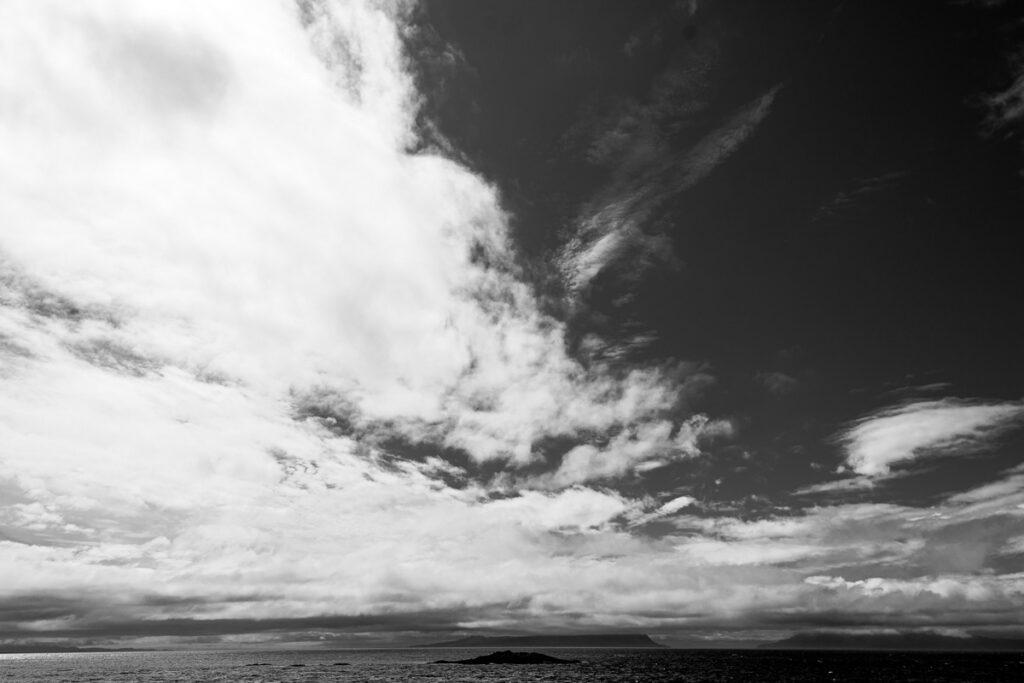 Isle of Skye, Wolkenhimmel - Schottland