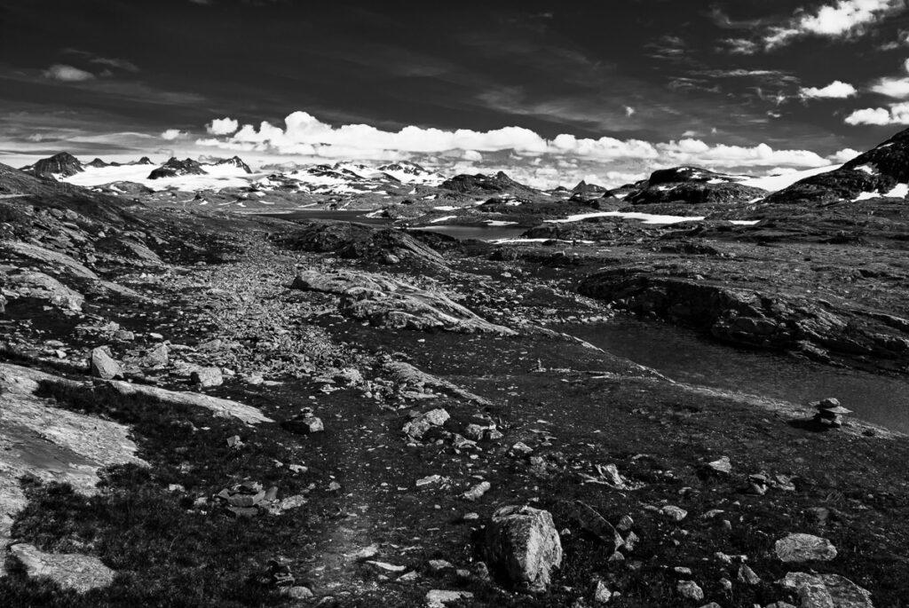 Jotunheimen - Landschaftsbild - Wandbild Hochebene Norwegen