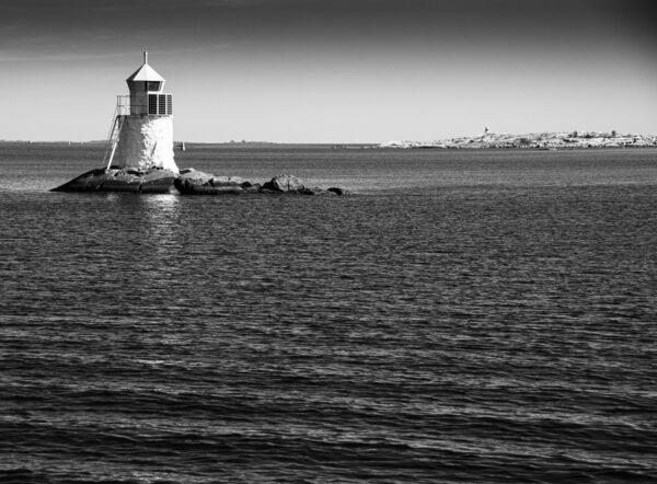 Leuchtturm Schweden - Maritimes Wandbild