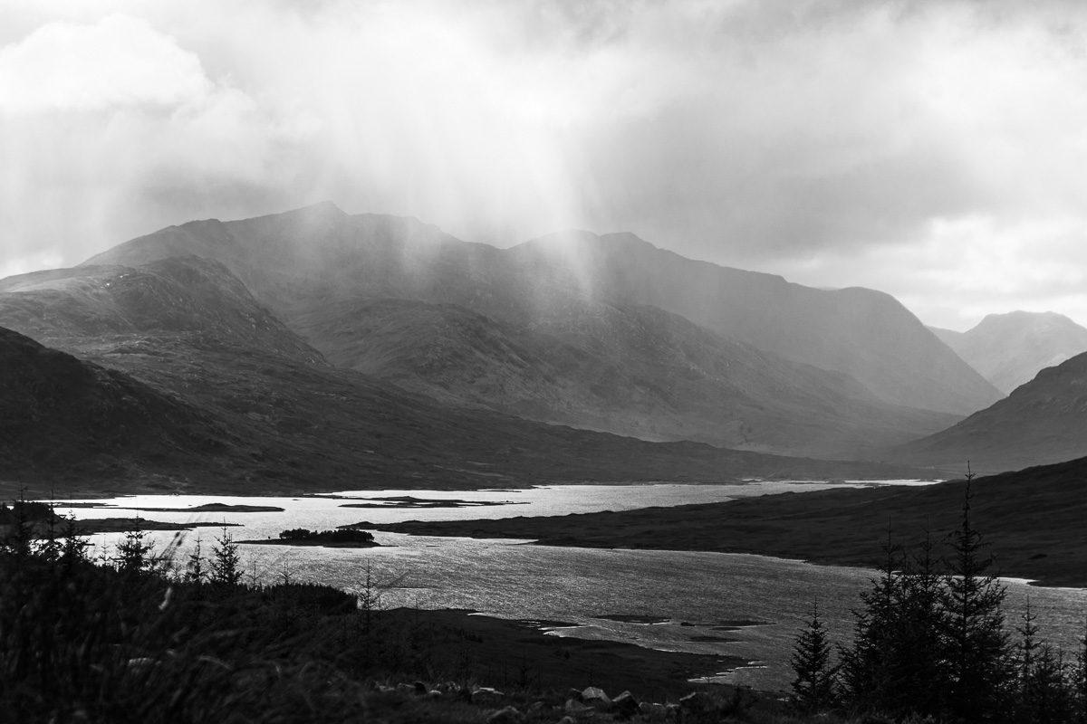 Atemberaubende Natur in den schottischen Highlands - Schottland Bilder
