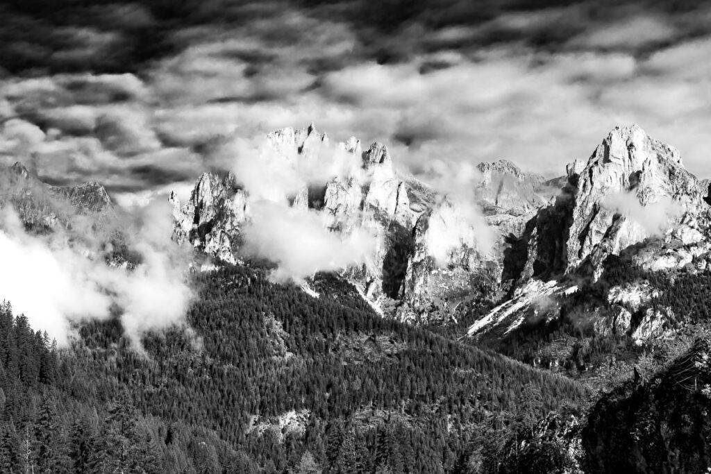 Rosengartengruppe Gruppo del Catinaccio - Bergbild, Dolomiten