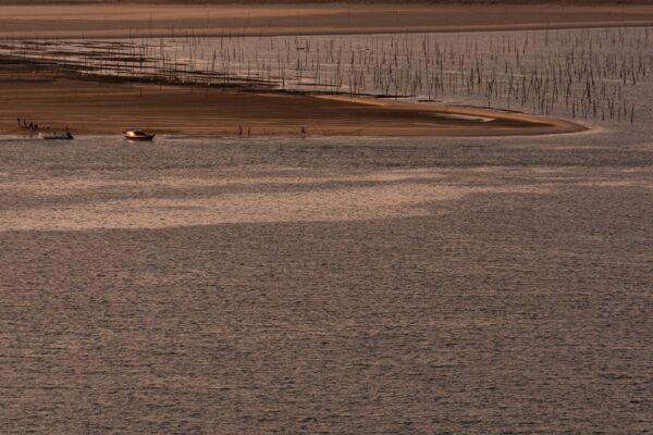 Sandbänke im Gegenlicht fotografiert – Sandbänke im Gegenlicht fotografiert – Frankreich Atlantik Küste Atlantik Küste