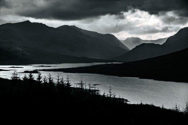 In den schottischen Highland - Wandbild Schottland