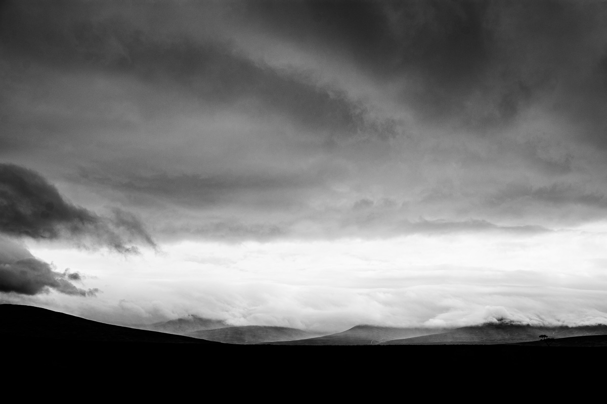 Schwarzweiß Fotografie - Schottland Highlands