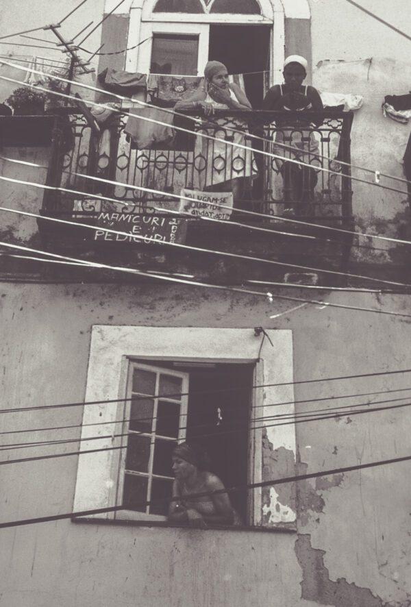 Vintage Straßenszene Brasilien – Street Life Photography