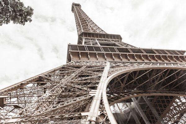 Wandbild vom Eiffelturm - Paris