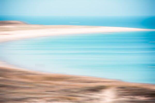 FineArt Wandbild - Sandstrand Tréac'h er Gourèd t - Île-d'Houat, Bretagne