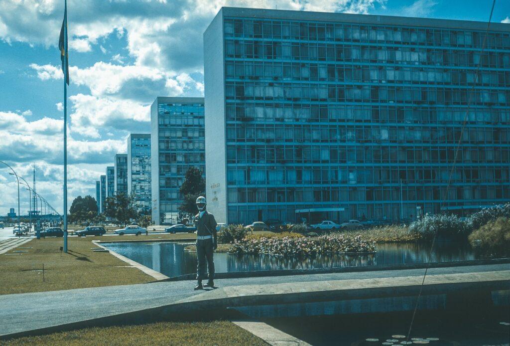 Vintage Bild Brasilia Federal do Brasil