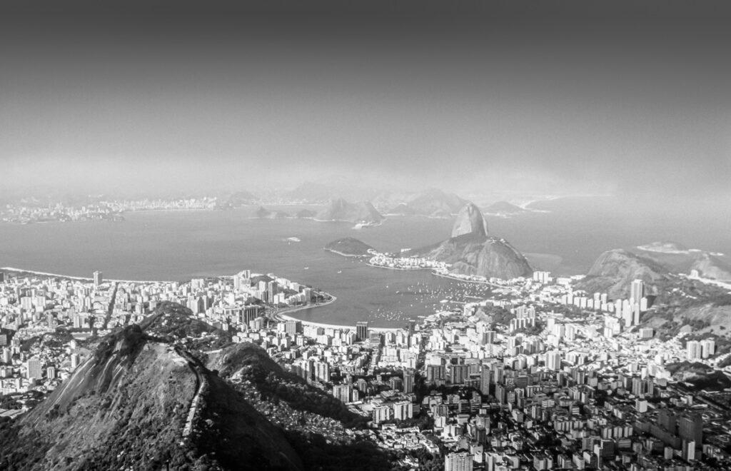 Vintage Bild - Zuckerhut – Rio de Janeiro, Brasilien