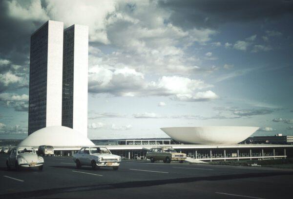 Vintage Wandbild Brasilia – Brasilien