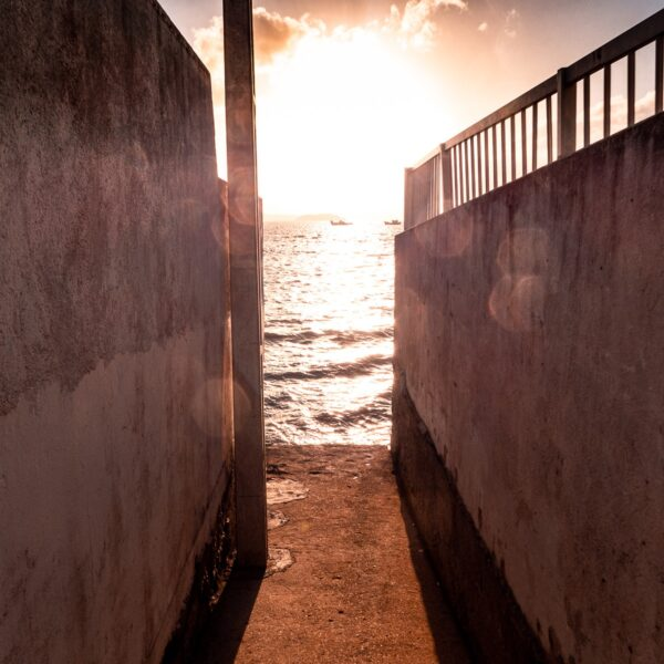Zugang zum Strand – Florianópolis, Floripa Brasilien, Brasil, Brazil